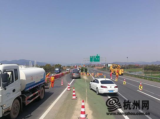 杭长高速最近有施工 如何绕行看这里!