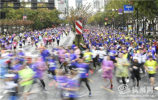 2020杭州马拉松落幕!粟国熊、管油胜破中国籍选手赛会记录