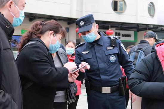 杭州警方圆满完成春节期间安保任务