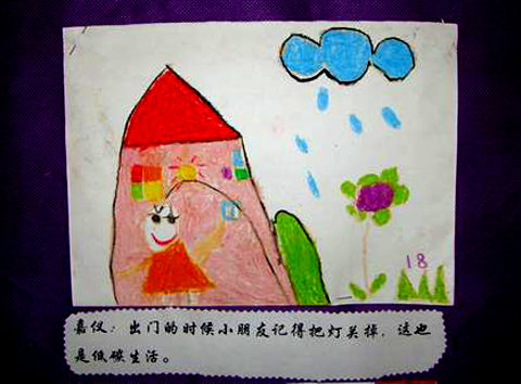 有关绿色环保的图画_画一幅绿色环保的图画,小学生绿色环保图画图片