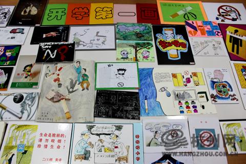 三年级下册禁毒手绘画