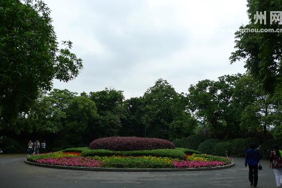 堤上三個花壇將成歷史; 堤上三個花壇將成歷史; 公園花壇手繪效果圖