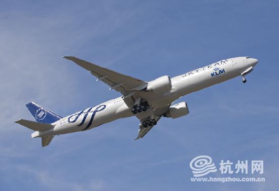 航波音777-200的飞机机身