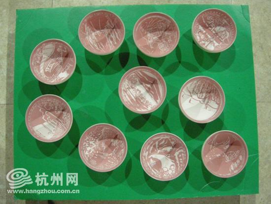杭州小学生优秀陶艺作品展出新建西湖最美元张家川凝聚小学县图片