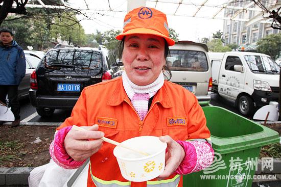 杭网原创 原创新闻  杭州网讯 今天下午,拱墅区城管局大院里充满了欢