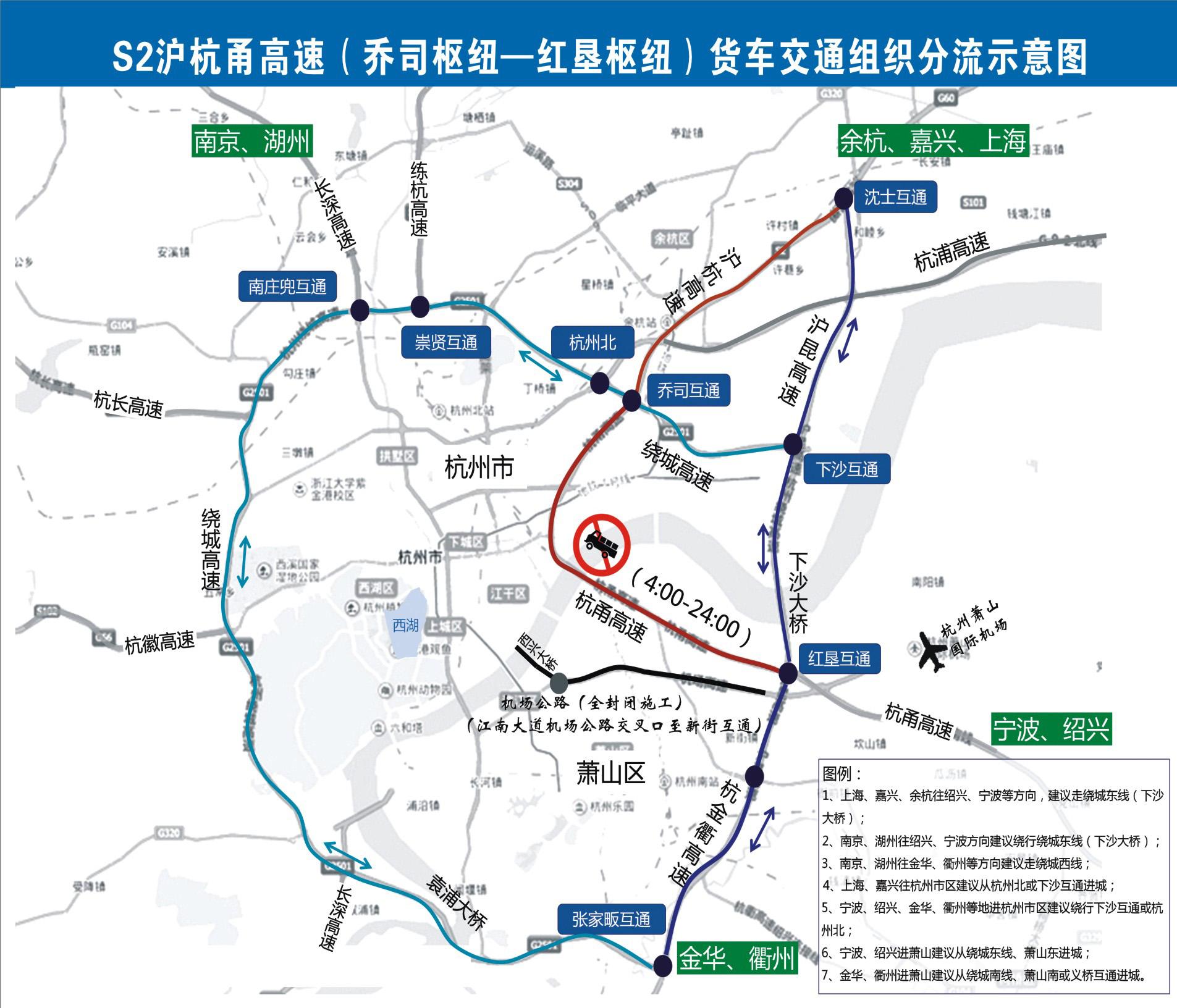 杭州市萧山区乡镇地图