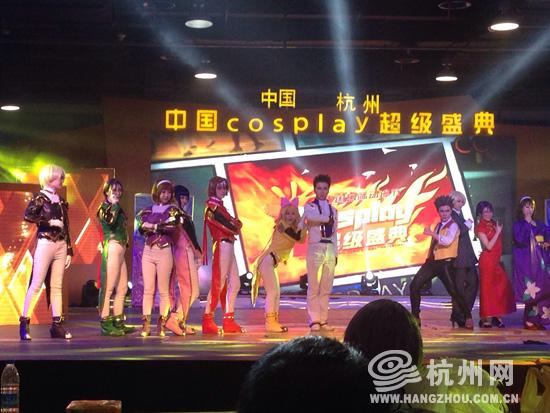 cosplay预赛争夺进入白热化 团队合作成为晋级的..
