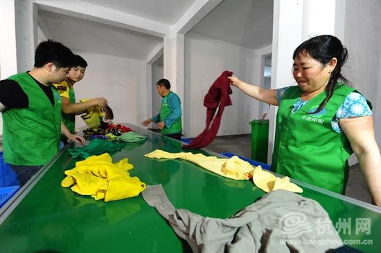 杭州人一年往大熊猫投了200多吨衣物去哪儿