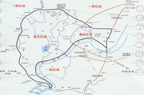杭州市养类犬区域划分图片